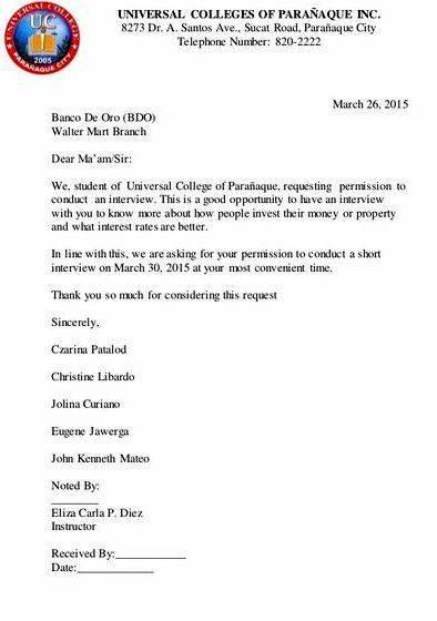 Interview request letter dissertation proposal is left