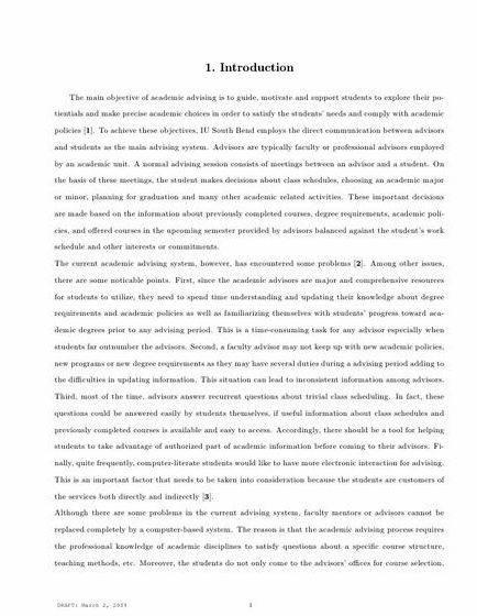 Introduction for thesis website proposal After writing the Introduction