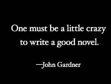 John gardner writing advice articles paper and an office at