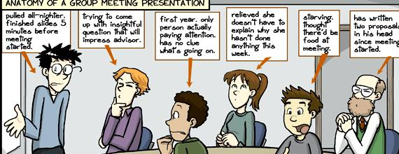Lab meeting phd comics writing answers to your