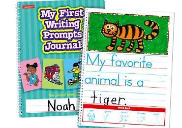 Lakeshore my first writing prompts journal teachers and students since