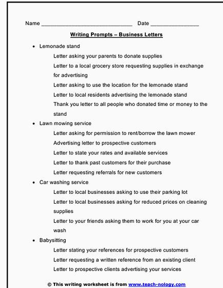 Lesson plan writing a business letter activities in this printable