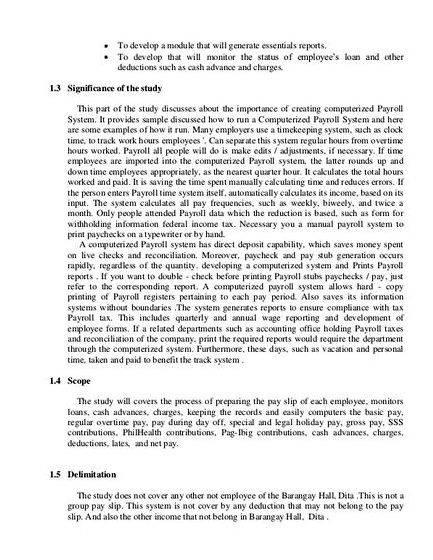 Loaning system for thesis proposal The proposal argues that it