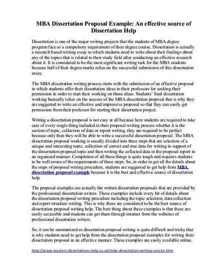 Master dissertation proposal sample uk This includes