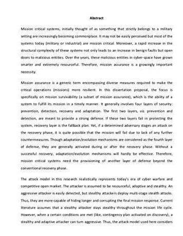 Master thesis proposal kth