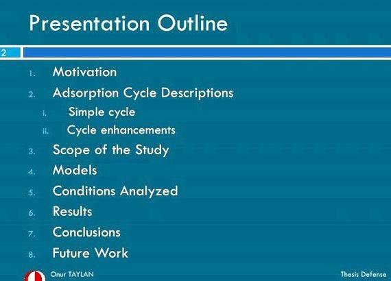 Phd thesis presentation slides