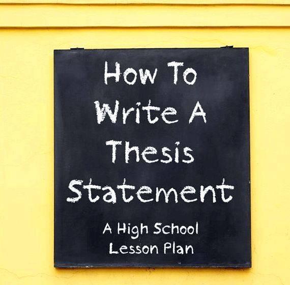 Writer block thesis