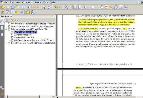 Dissertation writing software