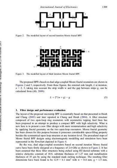 Microstrip bandpass filter thesis proposal to obtain