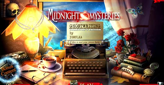 Midnight mysteries 6 ghost writing contract Norman Osborn