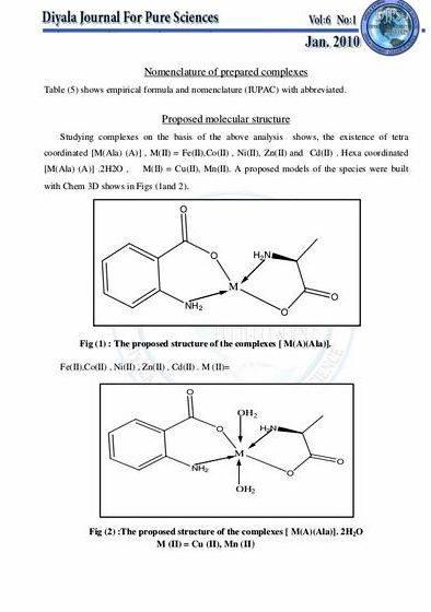 Mixed ligand complexes thesis writing It is supposed that