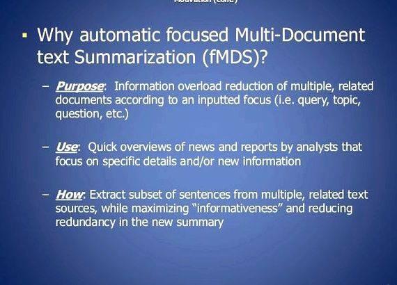 Multi document summarization thesis writing similarity, based on sentiment analysis