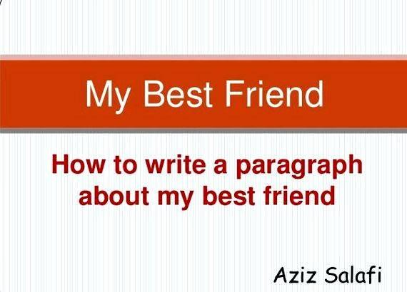 Help writing essay best friend