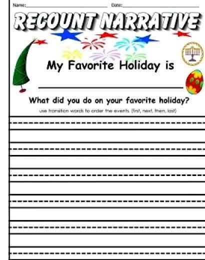 My favorite holiday writing prompts Ask them to tell you