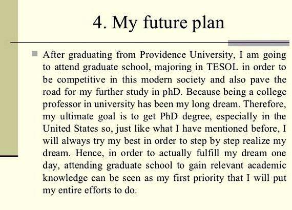 Essay my future