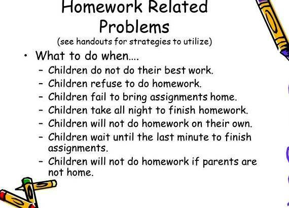 My kid refuses to do homework clip down activity prior