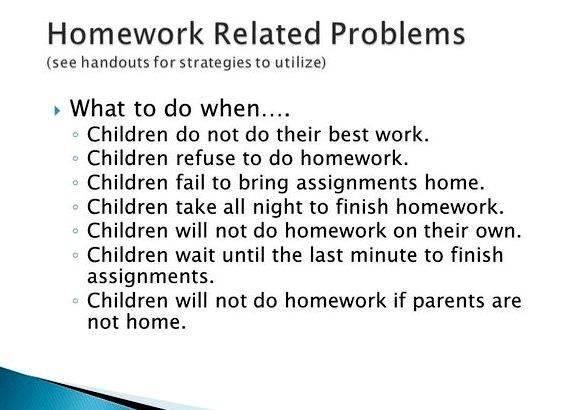 My kid refuses to do homework clip can only