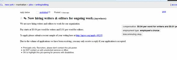 My writing job is it a scam Alright, so this may