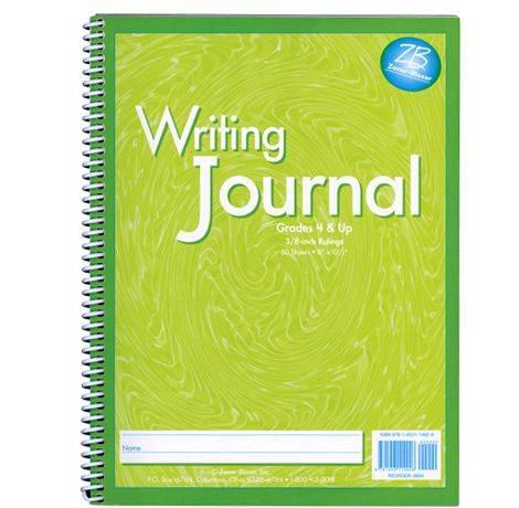 My writing journal by zaner-bloser spelling of uppercase