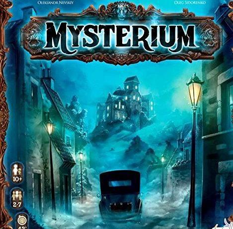 Mysterium board game english rules for writing way to my gaming table