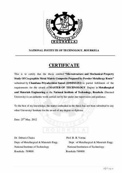 National institute of technology rourkela thesis proposal research topic, find