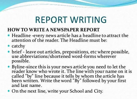 Newspaper articles on academic writing the source, as well