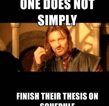 No excuses writing meme thesis Click here