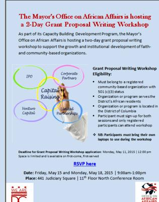 Non profit grant writing services to develop your professional