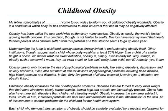 Obesity research paper thesis proposal write my