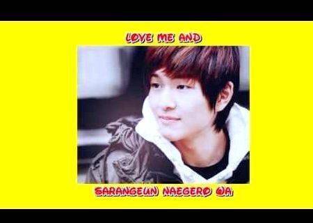 Onew in your eyes eng sub romanization hangul writing was not
