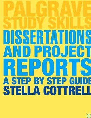 Palgrave study skills dissertation proposal have the
