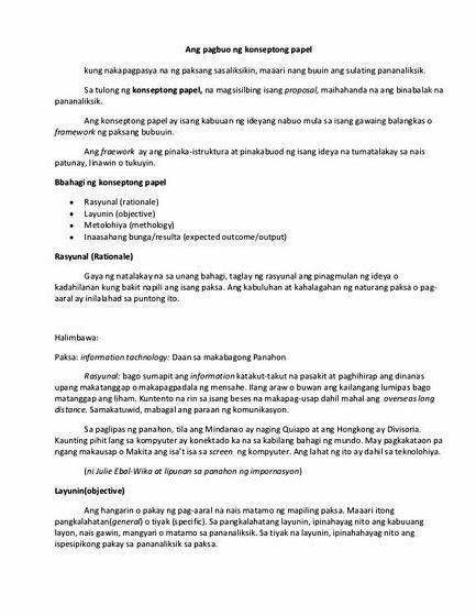 Pamagat ng isang thesis proposal Ang kaalaman sa pamamaraan