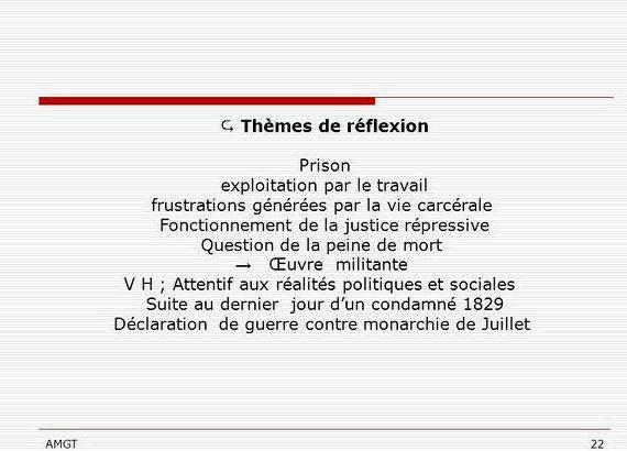 Dissertation sur la peine de mort pour ou contre