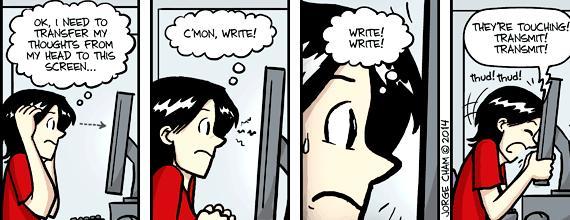 Phd comics thesis writing