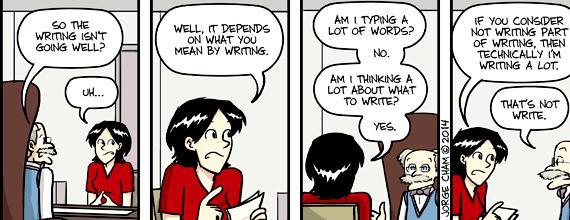 Phd comics writing thesis title Graduate courses involve writing