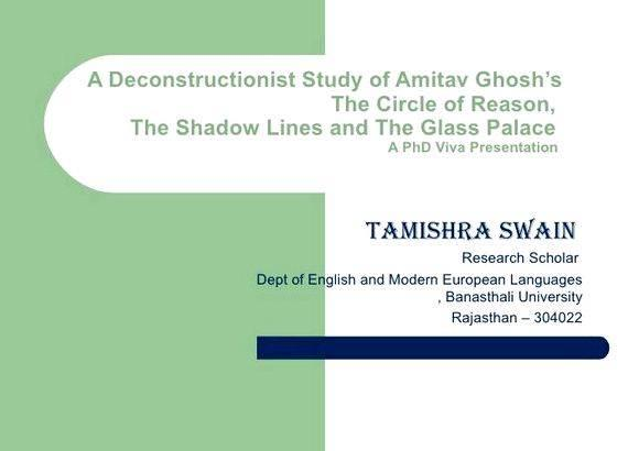 Phd dissertation presentation ppt file the thesis