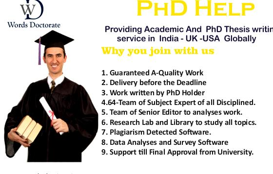 phd thesis writing services in delhi