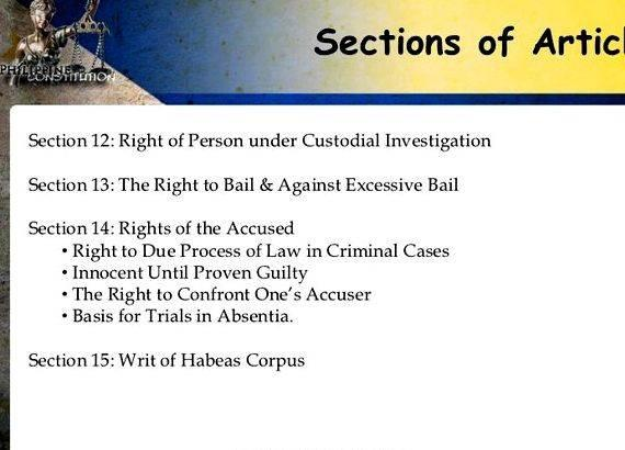 Philippine constitution article 14 summary writing Selected Basic Principles underlying the