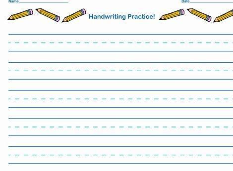 Practice Sheets For Writing Your Name