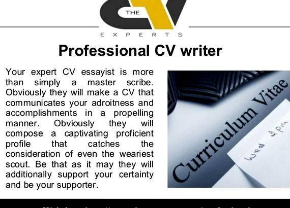 Cv writing service in london