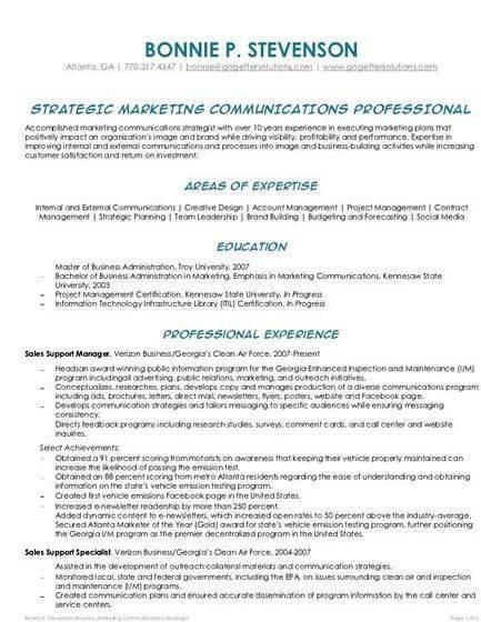 Resume writing service in atlanta