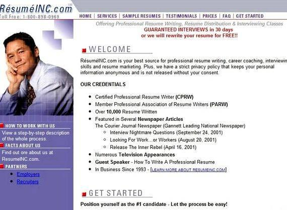Professional resume writing services ratings