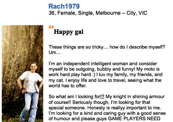 Online dating profile writing services