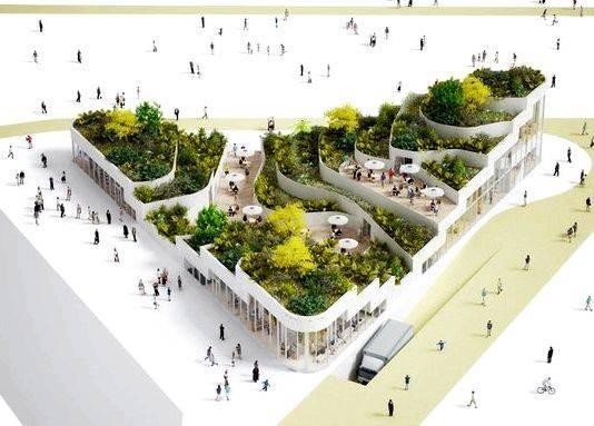 Public market architecture thesis proposal Modern architecture          European design