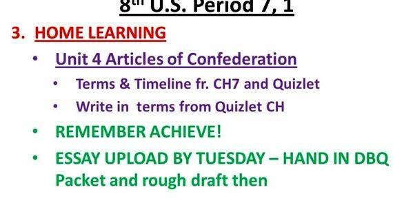 Reasons for writing the articles of confederation quizlet the first