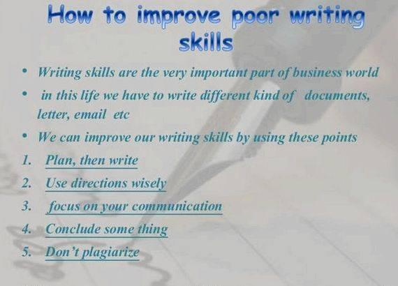 Reasons to revise your writing skills own words to highlight