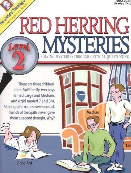 Red herring mystery writing graphic organizers works of fiction