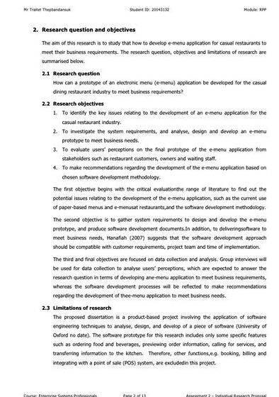 Research objectives master thesis proposal the research and together form