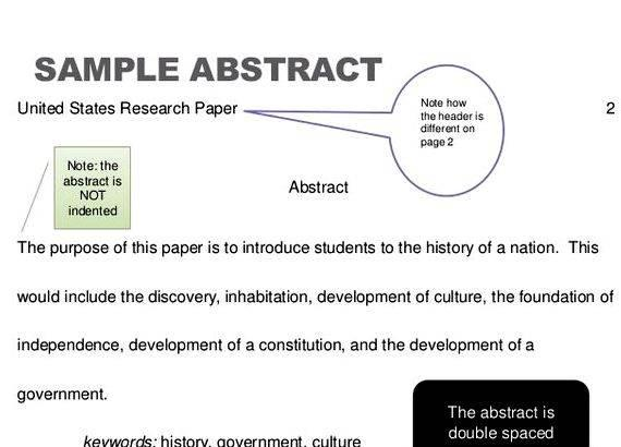 Research paper thesis abstract writing Check it over for grammatical