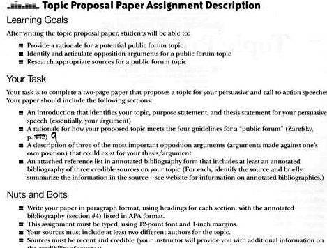 Research paper topics for thesis proposal ignorant and